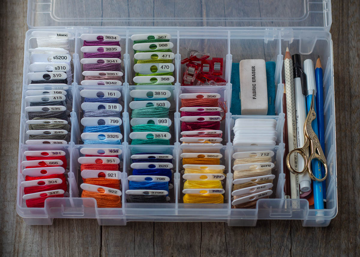 embroidery kit-embroidery storage art bin.JPG