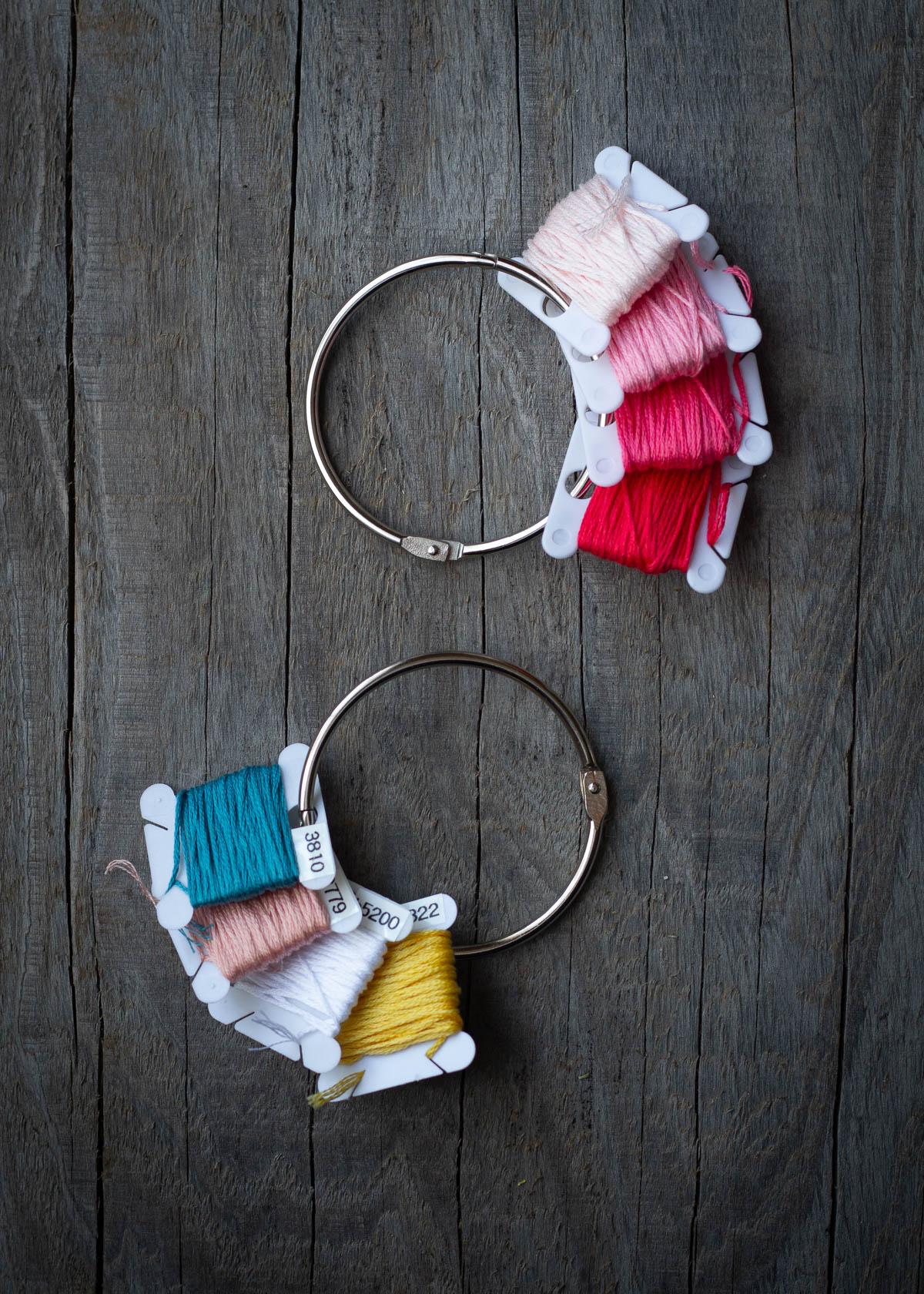 embroidery kit-floss on rings.JPG
