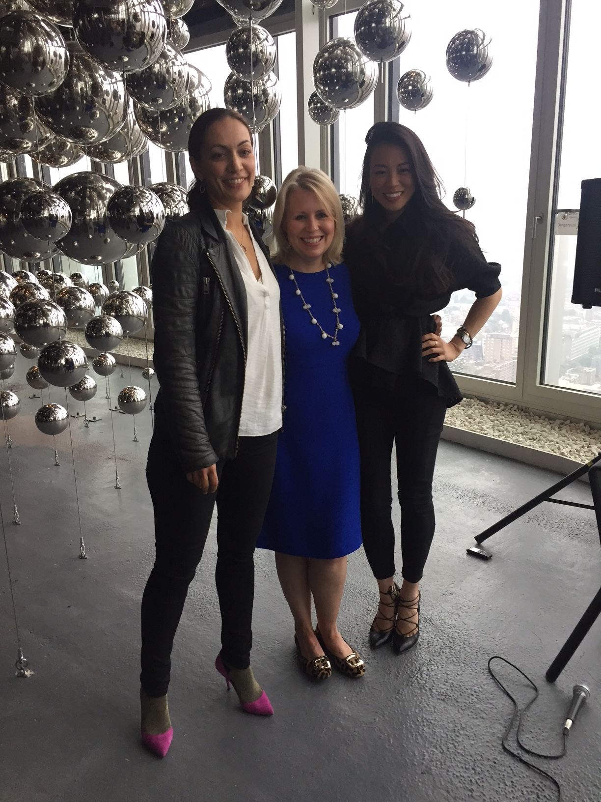 From left to right: BIG CEO  Sheela Søgaard , ZHA Global Head of People & Talent  Caroline Roberts  & Design Haus Liberty Founder  Dara Huang