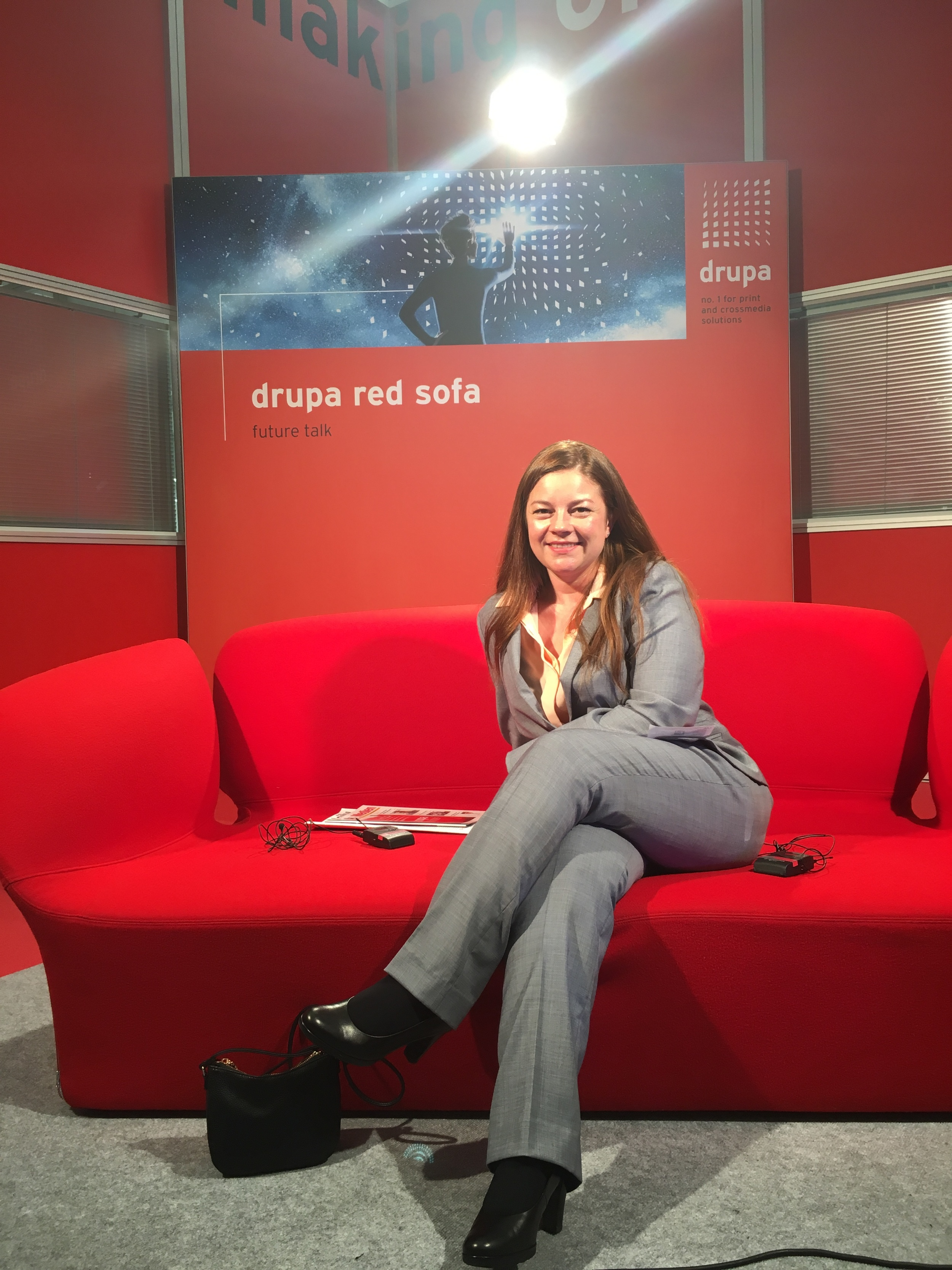 No one on the #drupa2016 red sofa couch? I couldn't resist. Thanks for letting me hijack it guys!