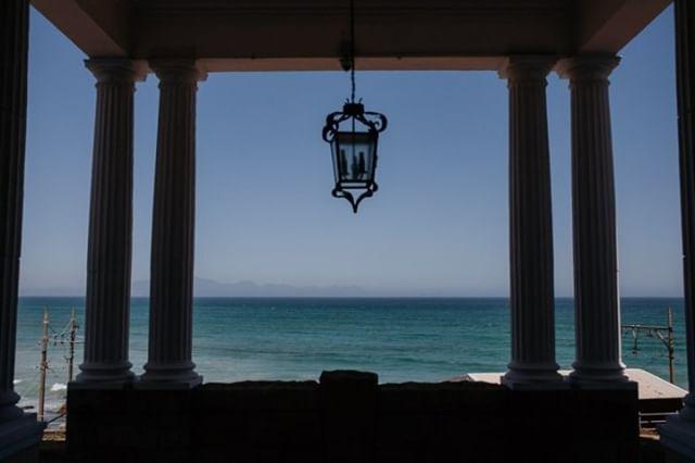 The infamous views at Casa Labia  . www.casalabia.co.za . #casalabia #casalabiacc #capetown #muizenberg #littleitaly #luxury #luxuryvenue #seaview #capetownhistory #capetown #whattodoincapetown #capetowntouism