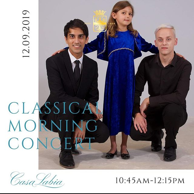 Classical Morning Concert Series with George Hill on Thursday 12 September 2019 at 10h45. . Pianists Ian Bothma and Ivan Preller, are two outstanding musicians from the South African College of Music at UCT.  . Their programme will include works by Beethoven, Debussy, Ginastera and Chopin. . Tickets are R130 each, bookings are essential.  Contact Azola on 021 788 6068 / cultural@casalabia.co.za . www.casalabia.co.za . #casalabia #casalabiacc #casalabiaevents #casalabiaconcert #classicalmusic #music #concert #capetownconcert #capetown #whattodoincapetown #muizenberg