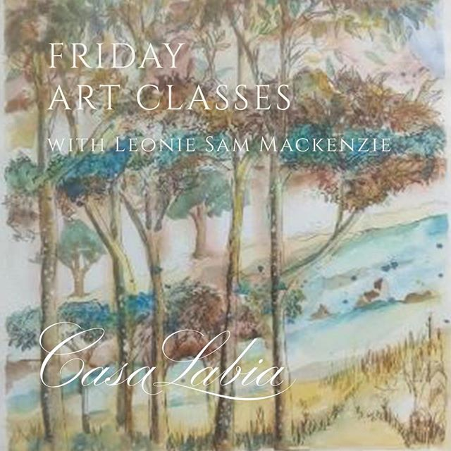 A reminder about the Friday art Classes starting on Friday with Leonie Mackenzie. . Here we explore accessible tools and aspects of creativity using a variety of mediums.  Each week we enjoy uncovering our own feel for art while learning something new. . Classes are small so individual attention and guidance can be given. . Please bring with you; pencils (variety of B), rubber putty, sketchbook (multimedia)and School nature study sketchbook . Classes take place every Friday from 09h00 - 12h30 and cost R350 per class. . Bookings are essential: 079 188 0678 . @samanthaleoniemackenzie . #casalabiaart #casalabia #leoniemackenzie #art #capetownart #artclasses #arteducation #whattodoincapetown #muizenberg 