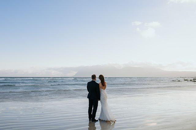 Our beautiful Muiznebreg beach, just a stretch away from Casa Labia. . www.casalabia.co.za . #casalabia #casalabiacc #muizenberg #wedding #muizenbergwedding # weddingday #weddinglocation