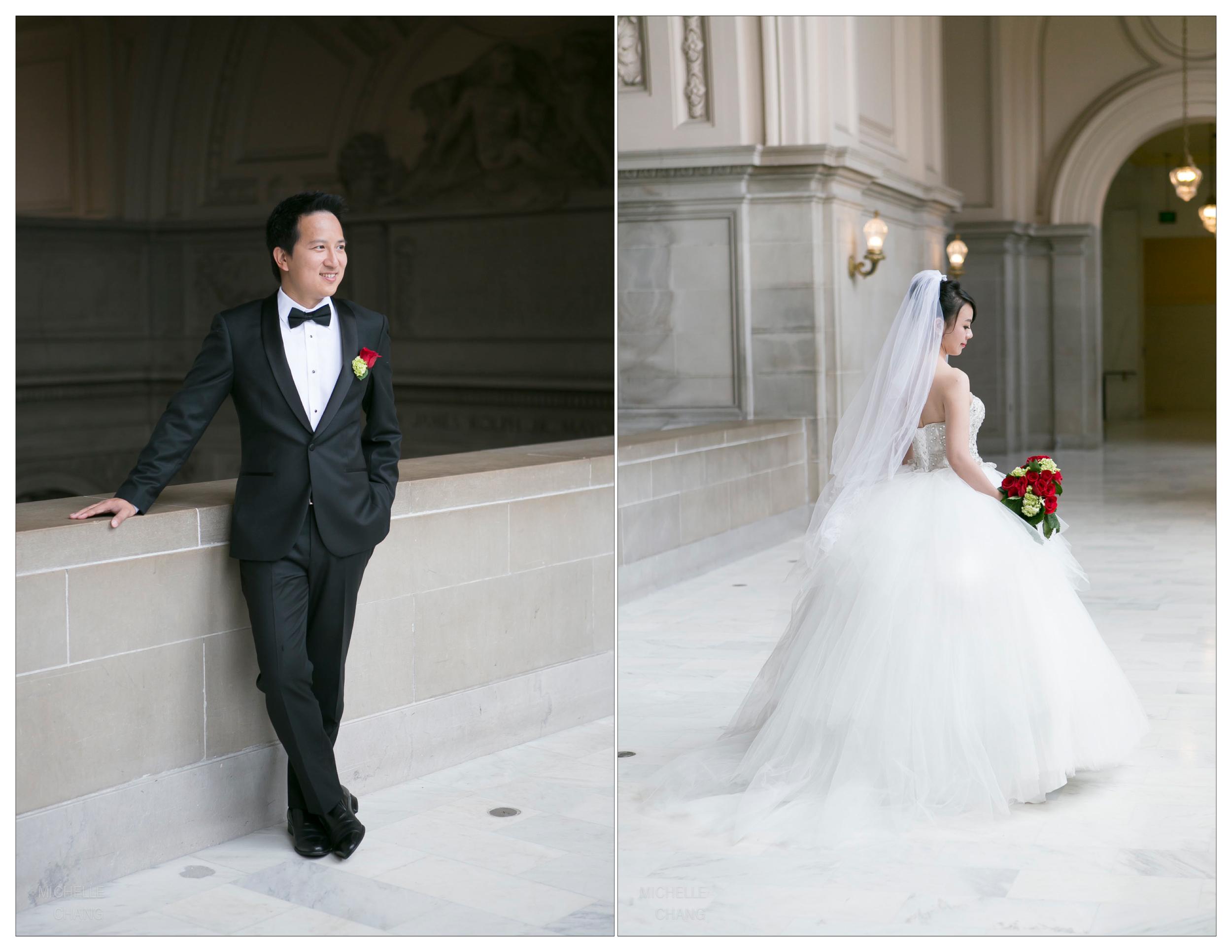 Michelle Chang Photography - San Francisco City Hall Wedding