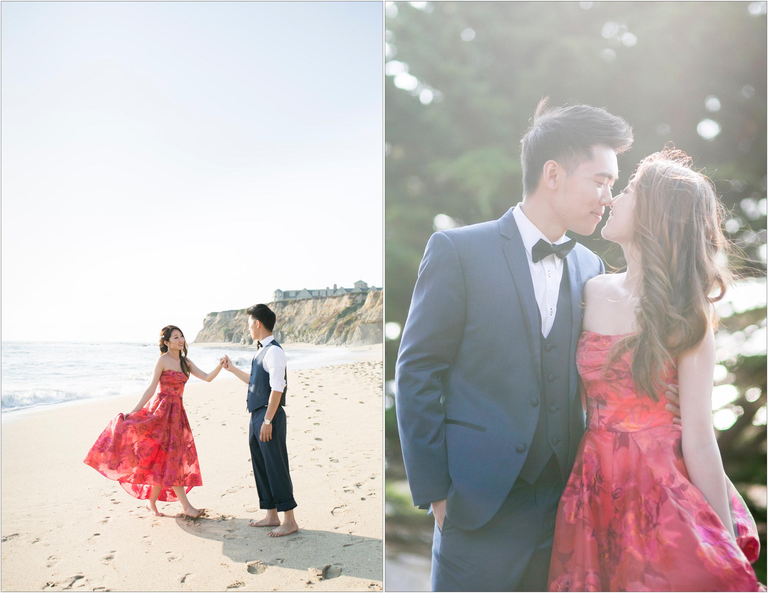 Ritz Carlton Half Moon Bay Wedding - Michelle Chang Photography