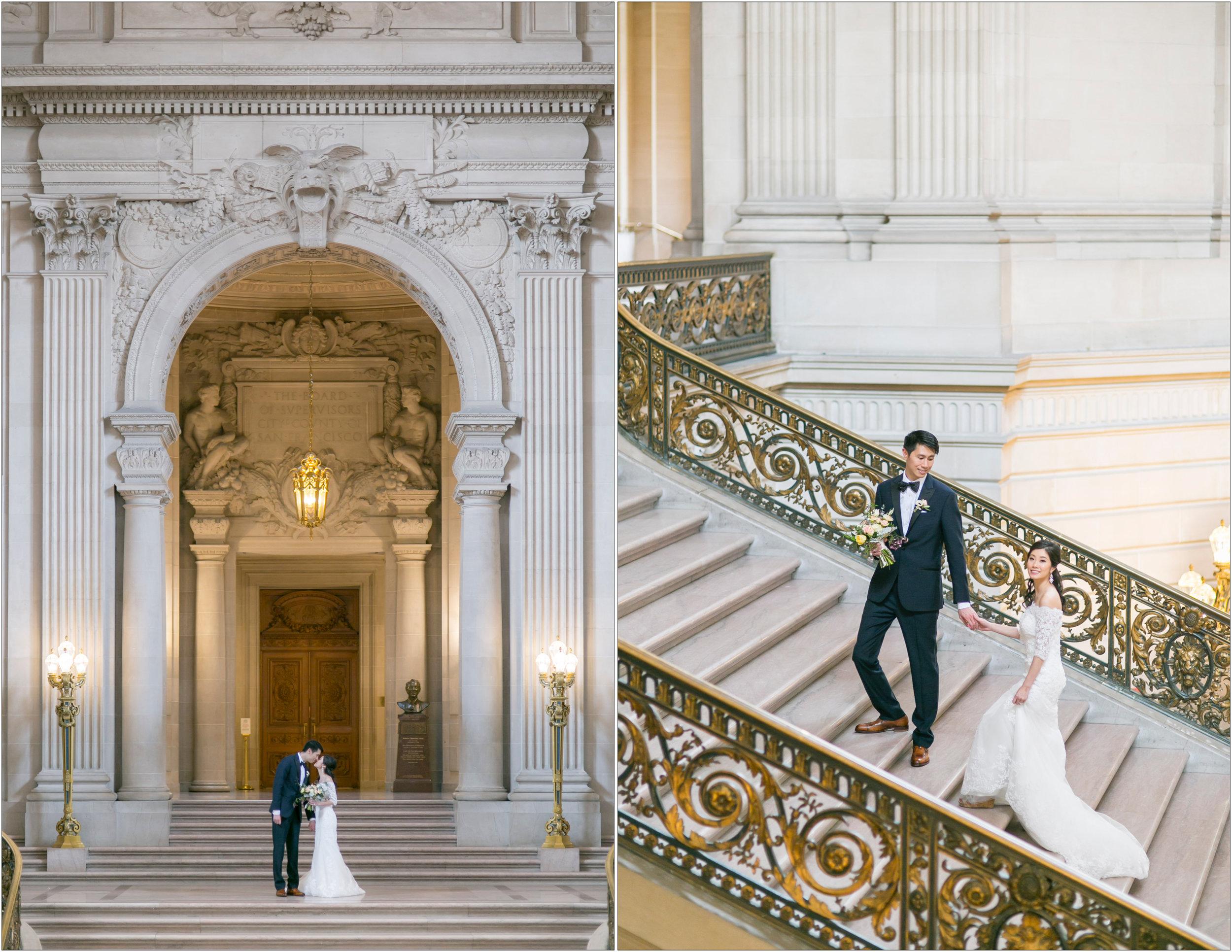 San Francisco City Hall Wedding Photographer - Michelle Chang Photography