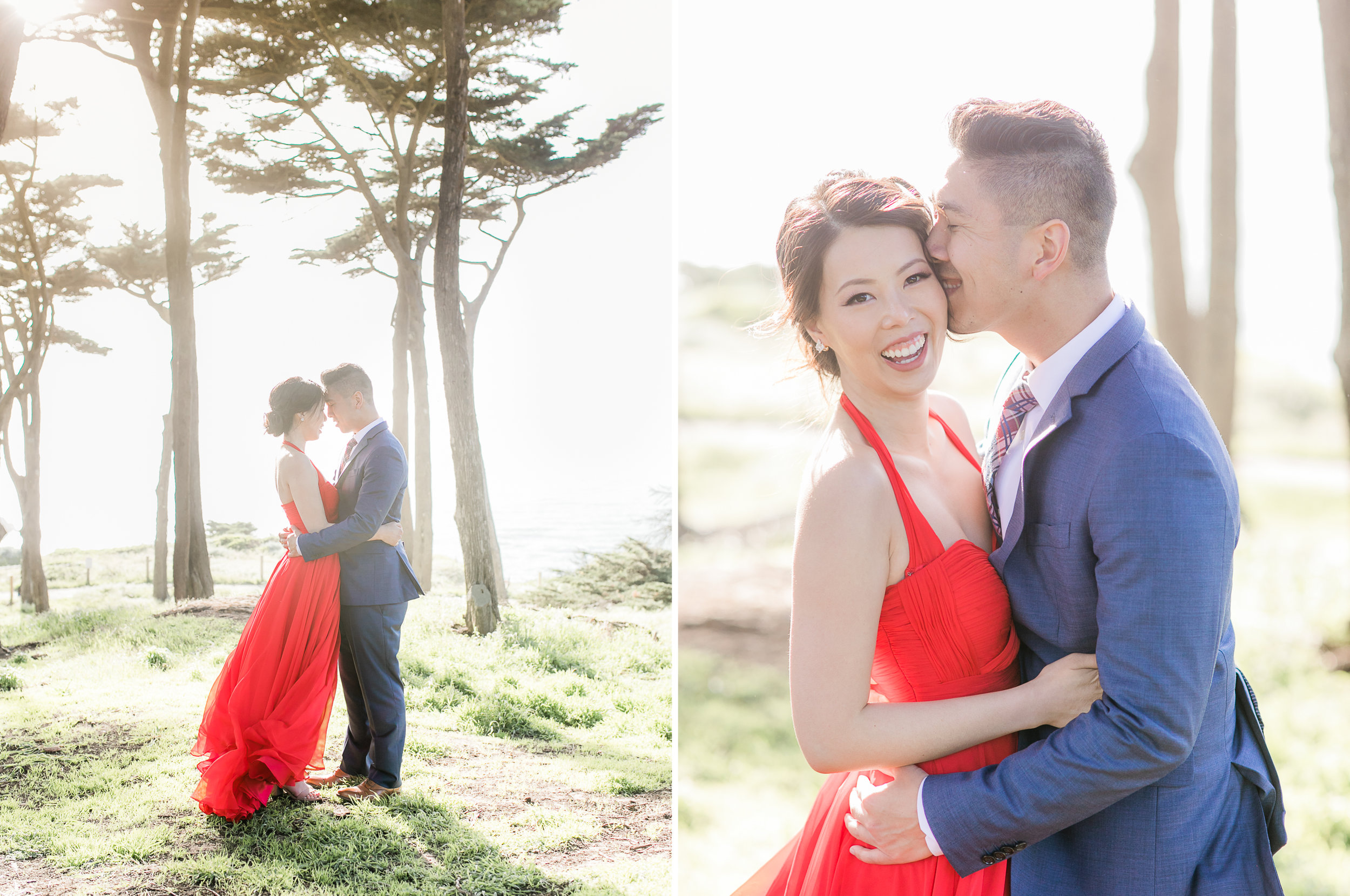 San Francisco Sutro Bath Engagement_michellechangphotography_Sarah and Yale