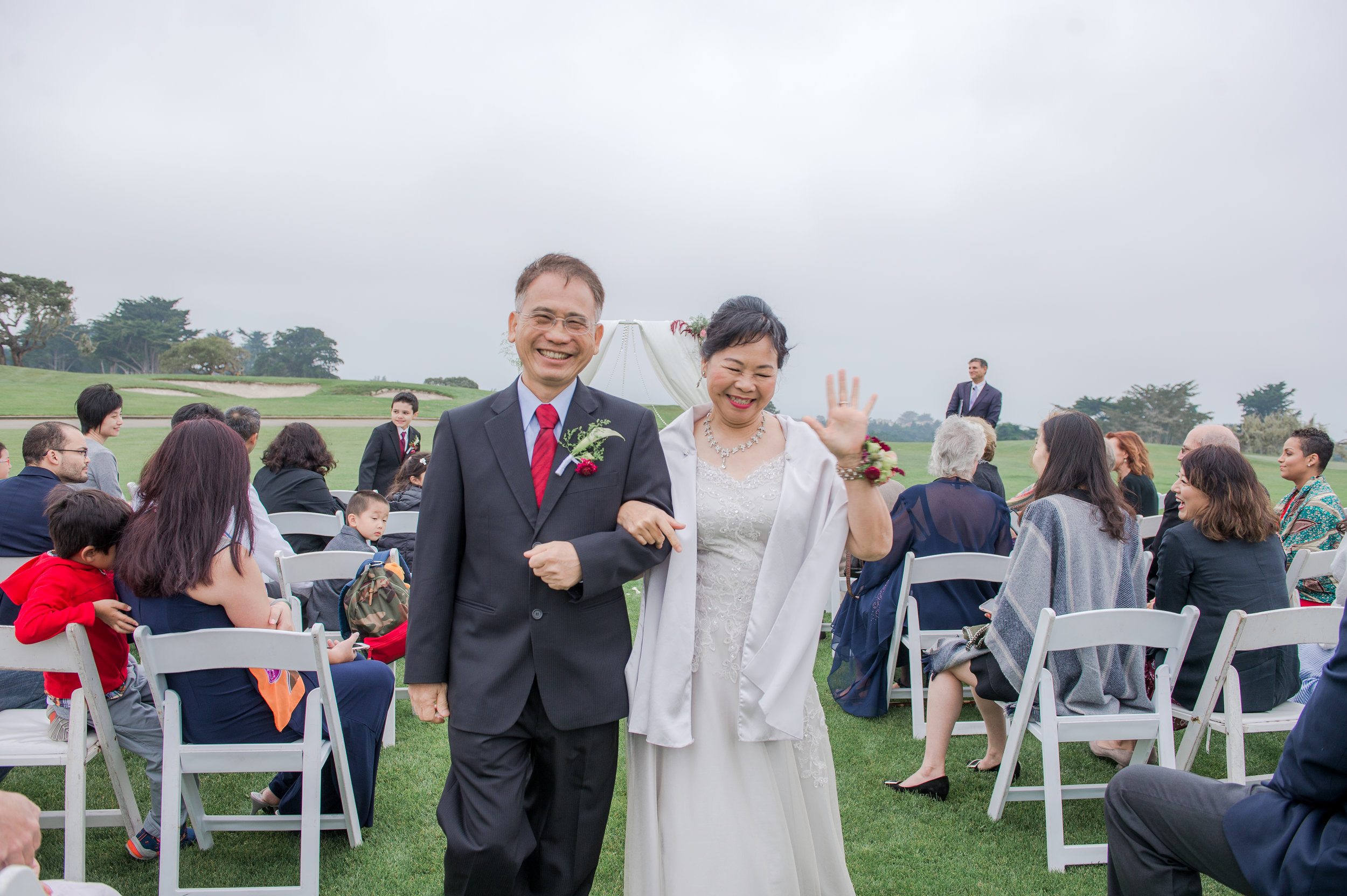 Monterey Wedding - Michelle Chang Photography