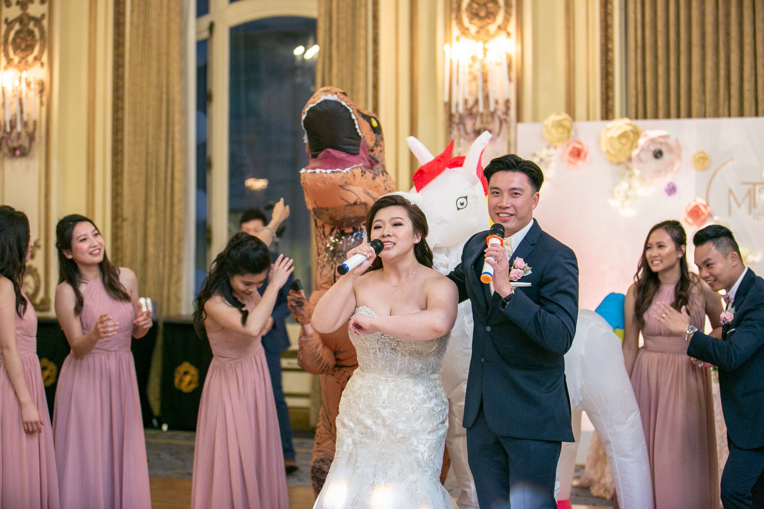 SF Fairmont Hotel Wedding - Michelle Chang Photography