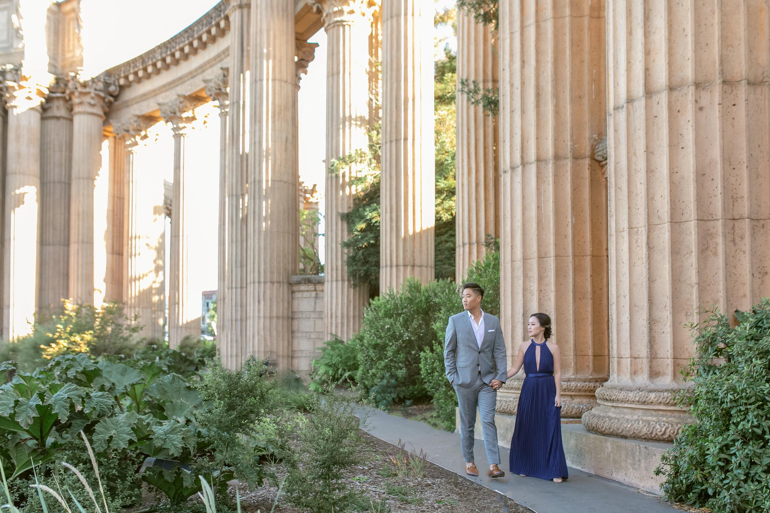 San Francisco Engagement Session 舊金山美式婚紗 - Michelle Chang Photography