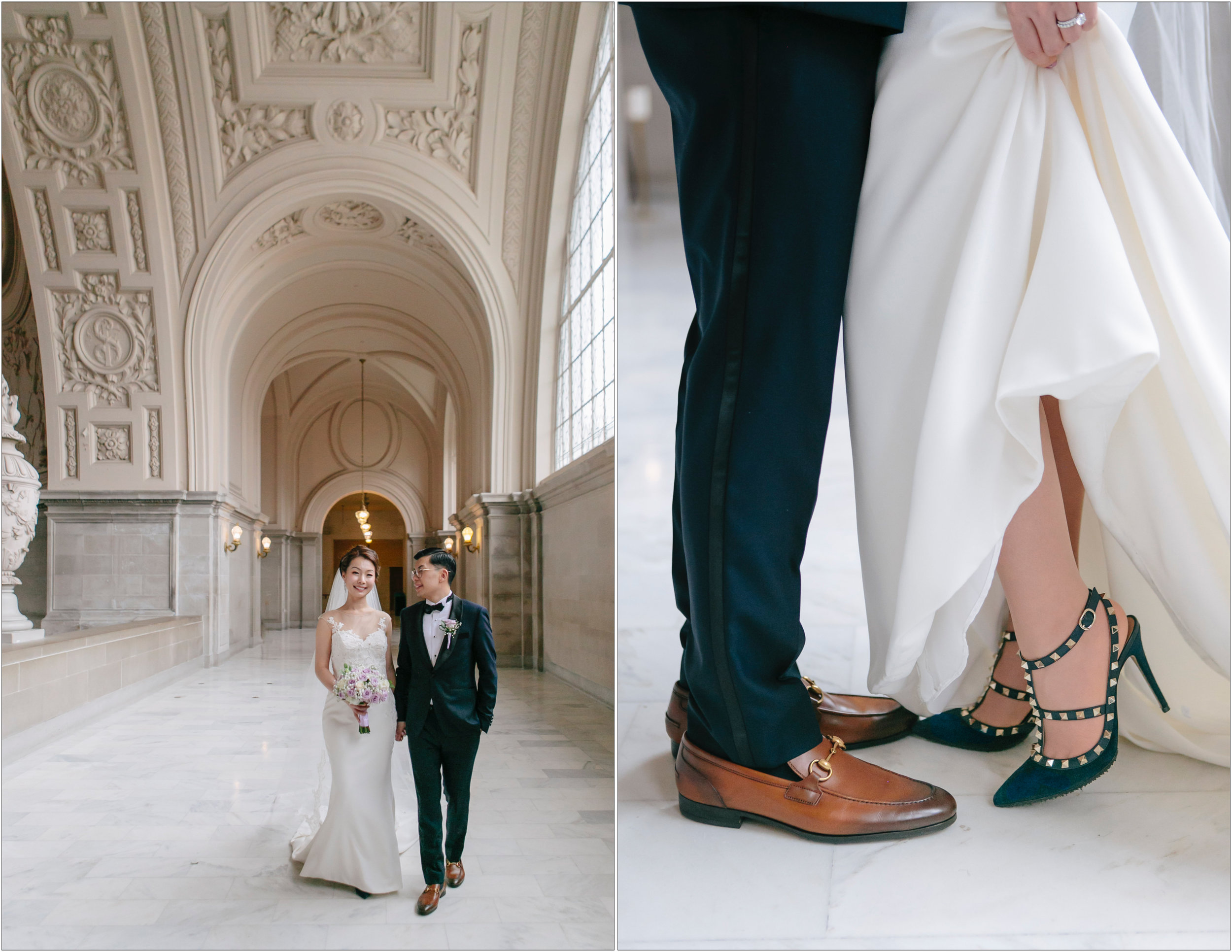 San Francisco City Hall Wedding - Michelle Chang Photography