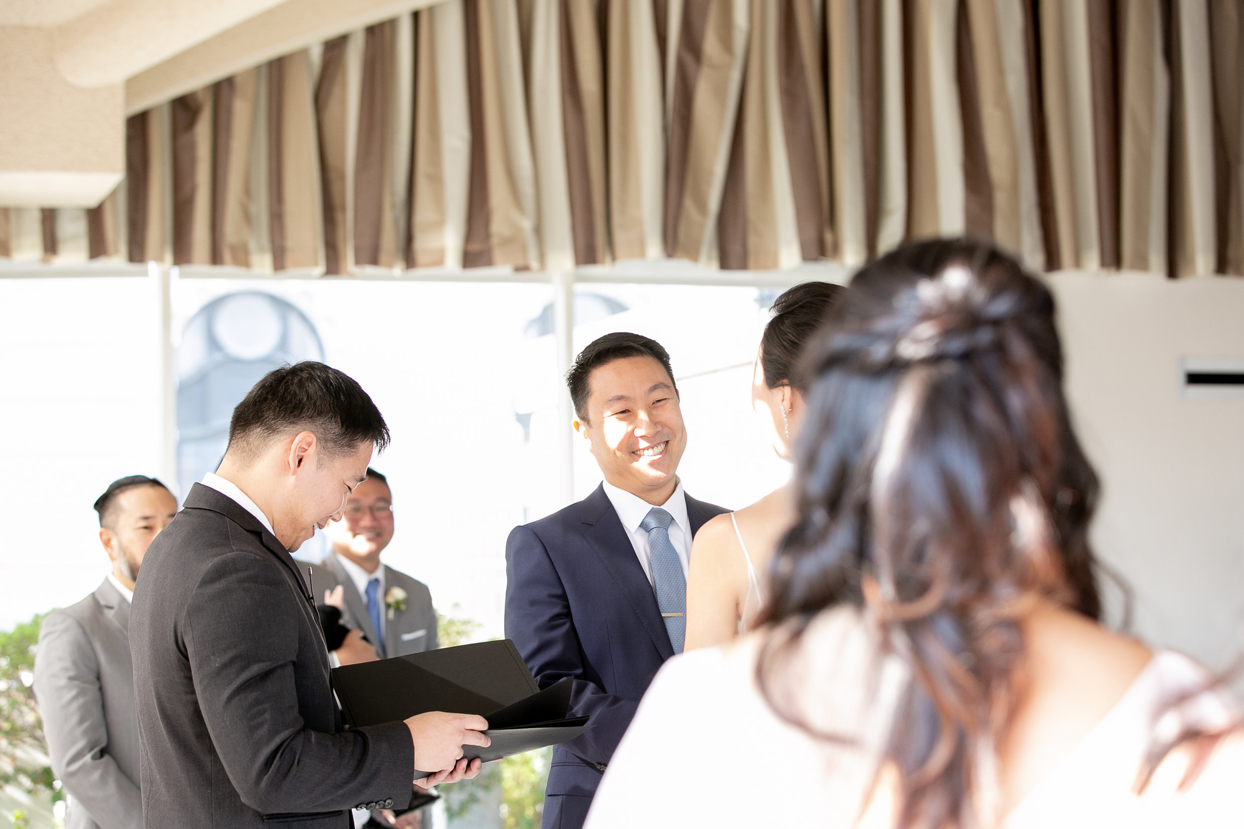 San Francisco Fairmont Hotel Wedding - Michelle Chang Photography