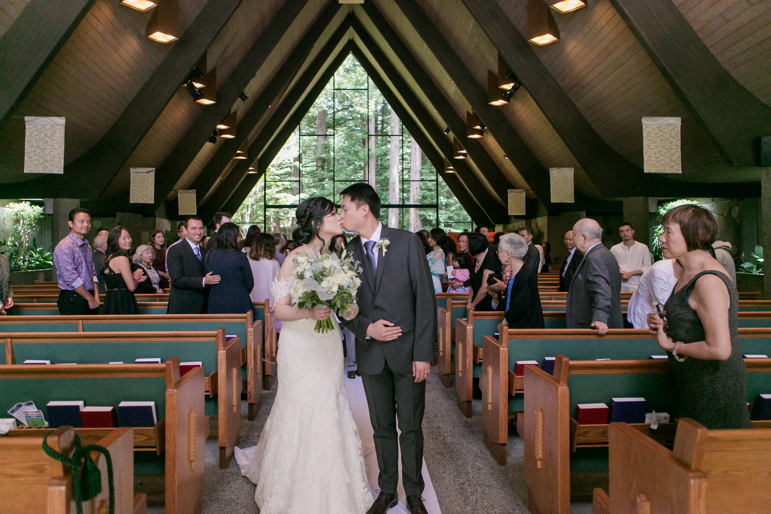 Valley Presbyterian Church Wedding - Portola Valley, California