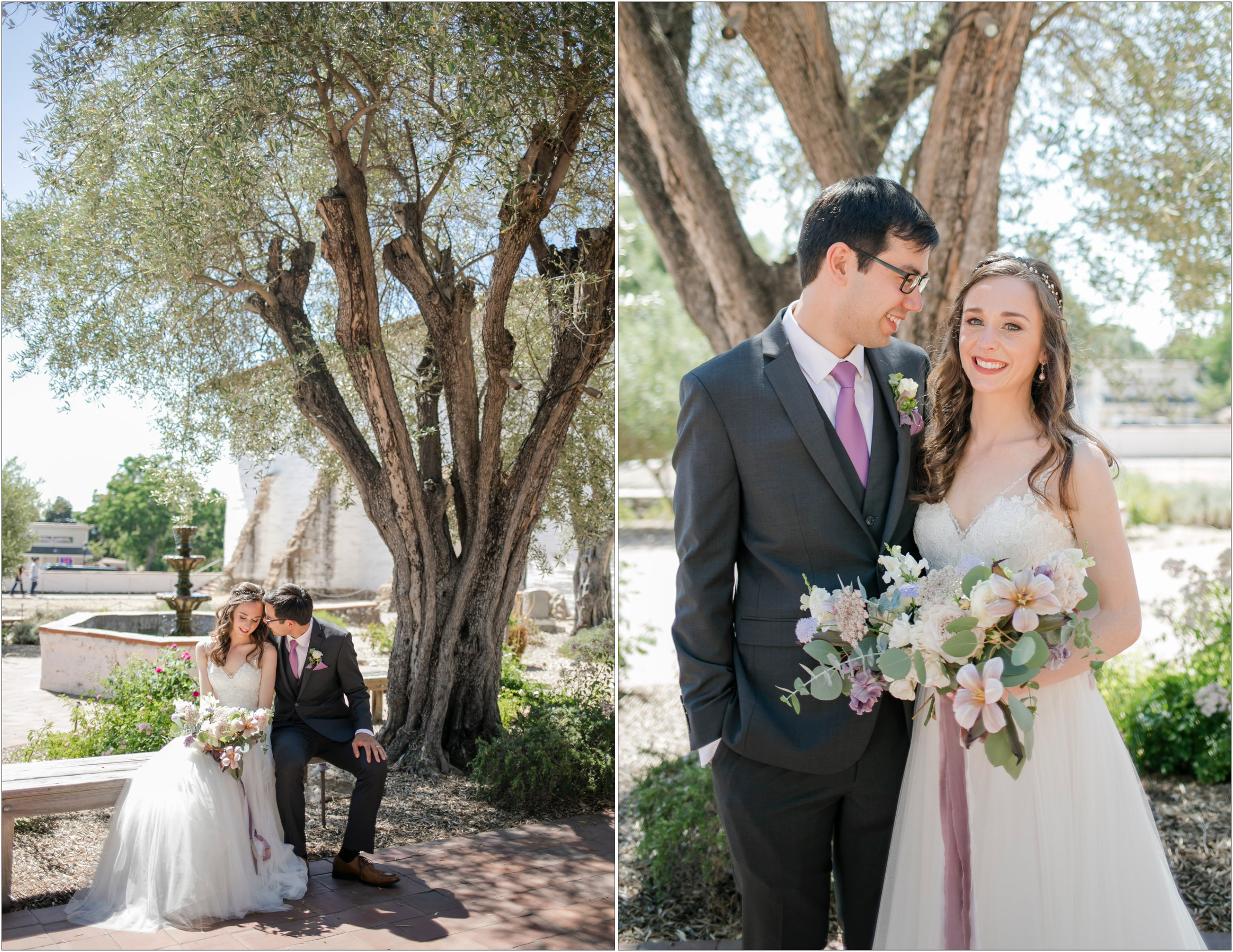 Old Mission San Jose Wedding - Michelle Chang Photography