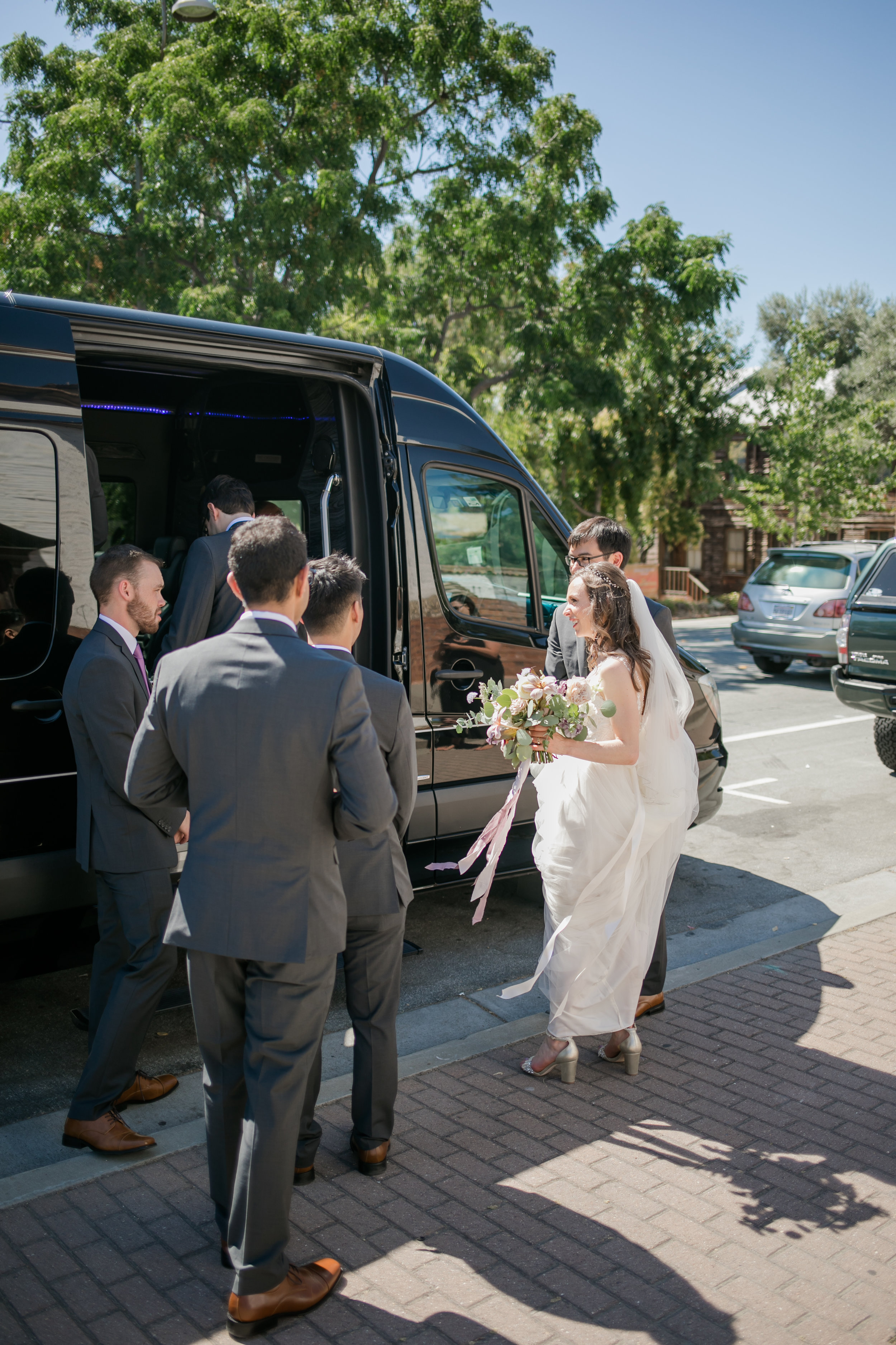 old mission san jose church wedding - michelle chang photogrpahy