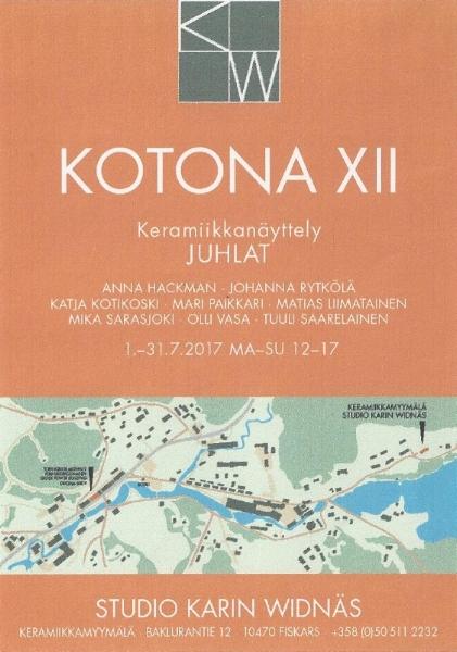 KOTONA XII JUHLAT