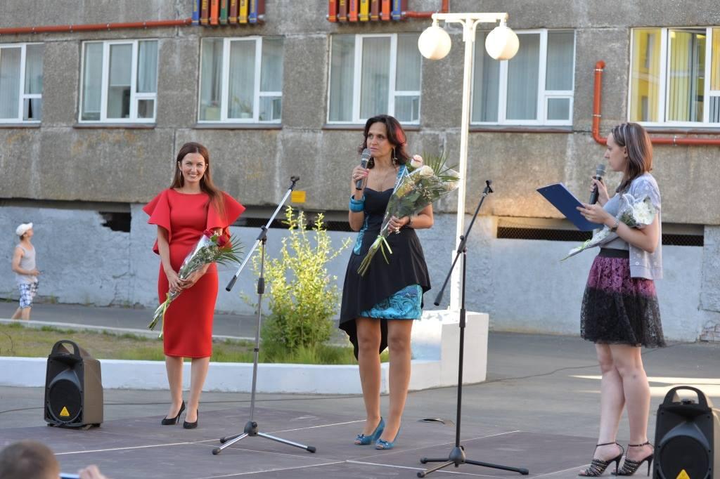 На открытии проекта. Норильск, 11 июля 2016 года