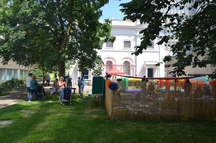 Brighthelm's new community garden