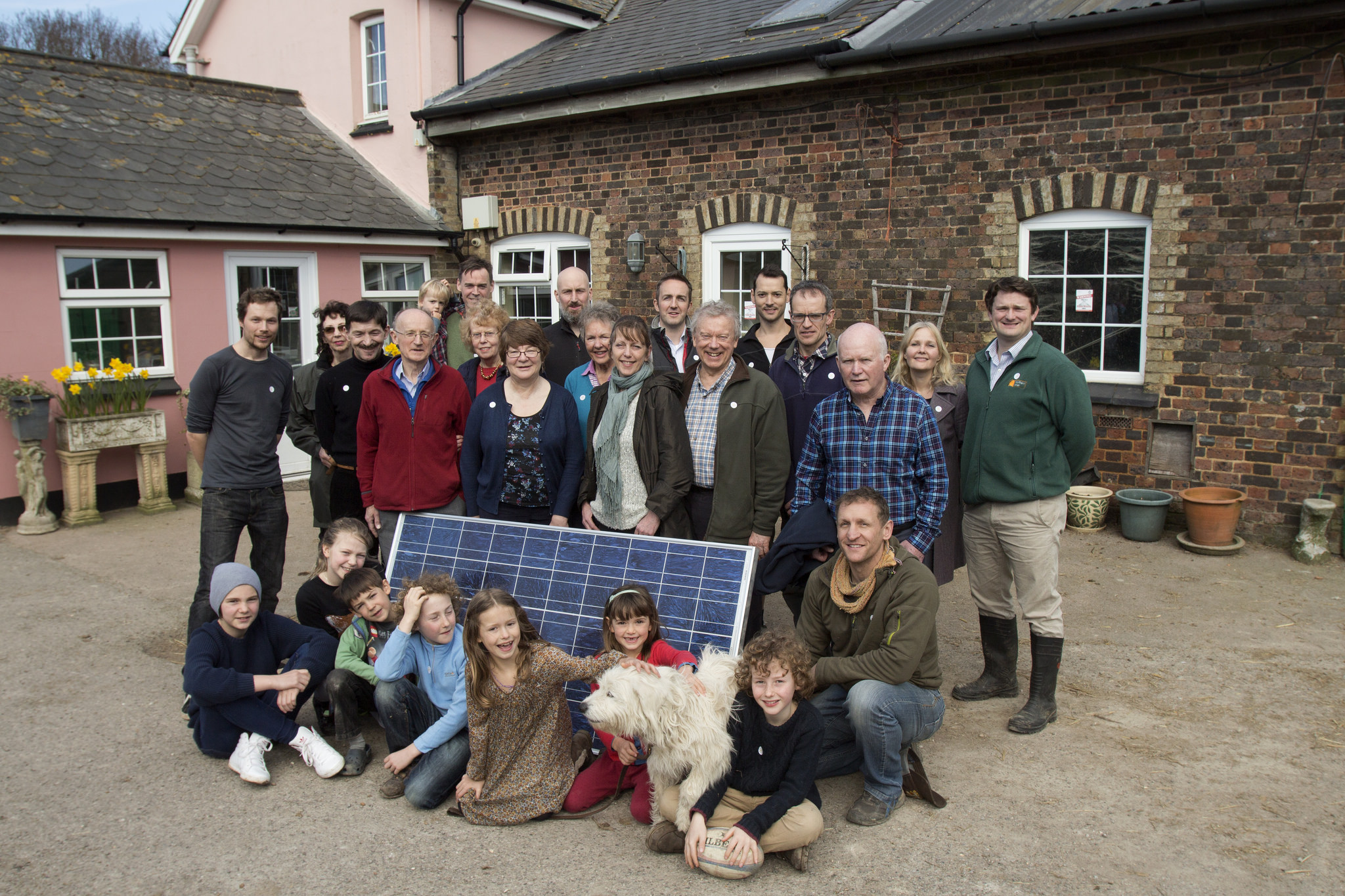 The RepowerBalcombe team