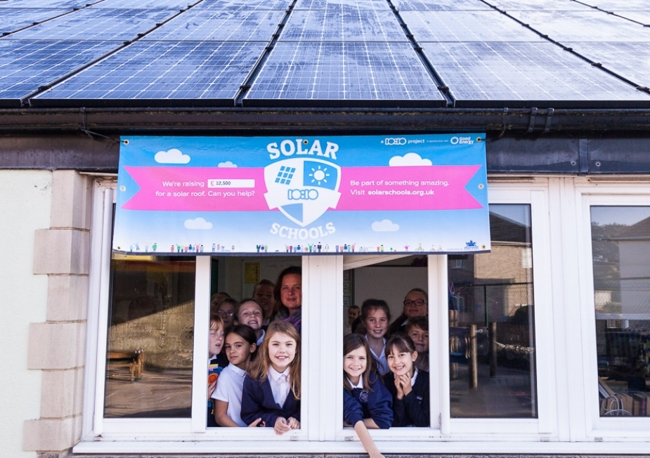 Ludwell primary school, Dorset, raised £12,500 for their solar panels in 2015-16.