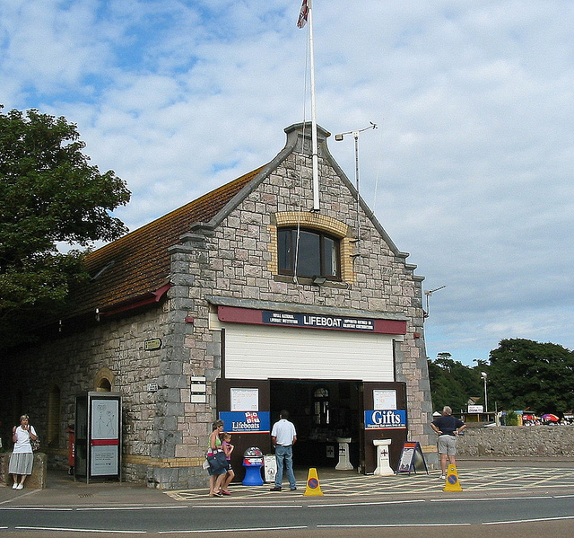 RNLI Exmouth lifeboat and station: Crowcombe Al,  Creative Commons