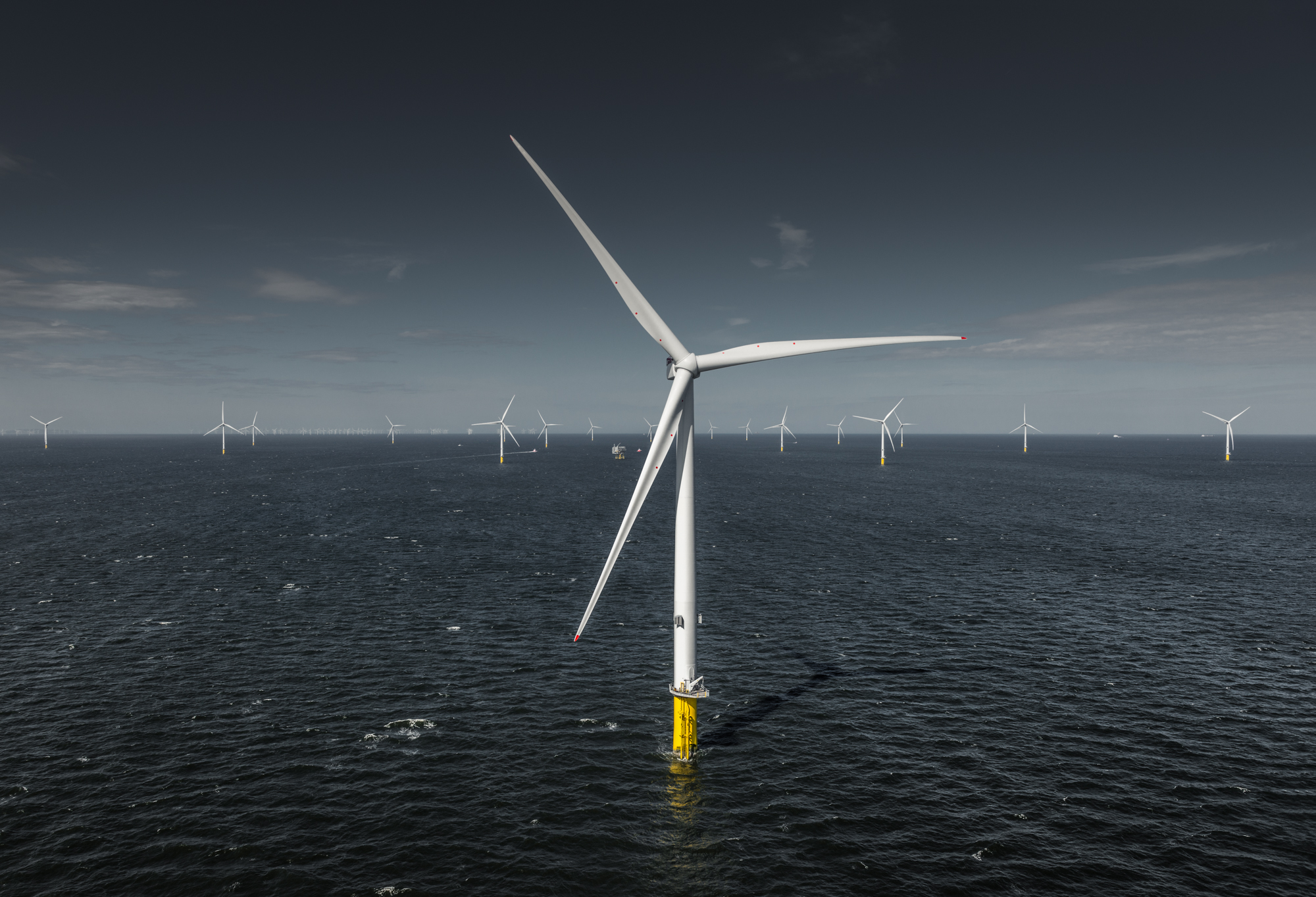 Photo: MHI Vestas offshore wind.