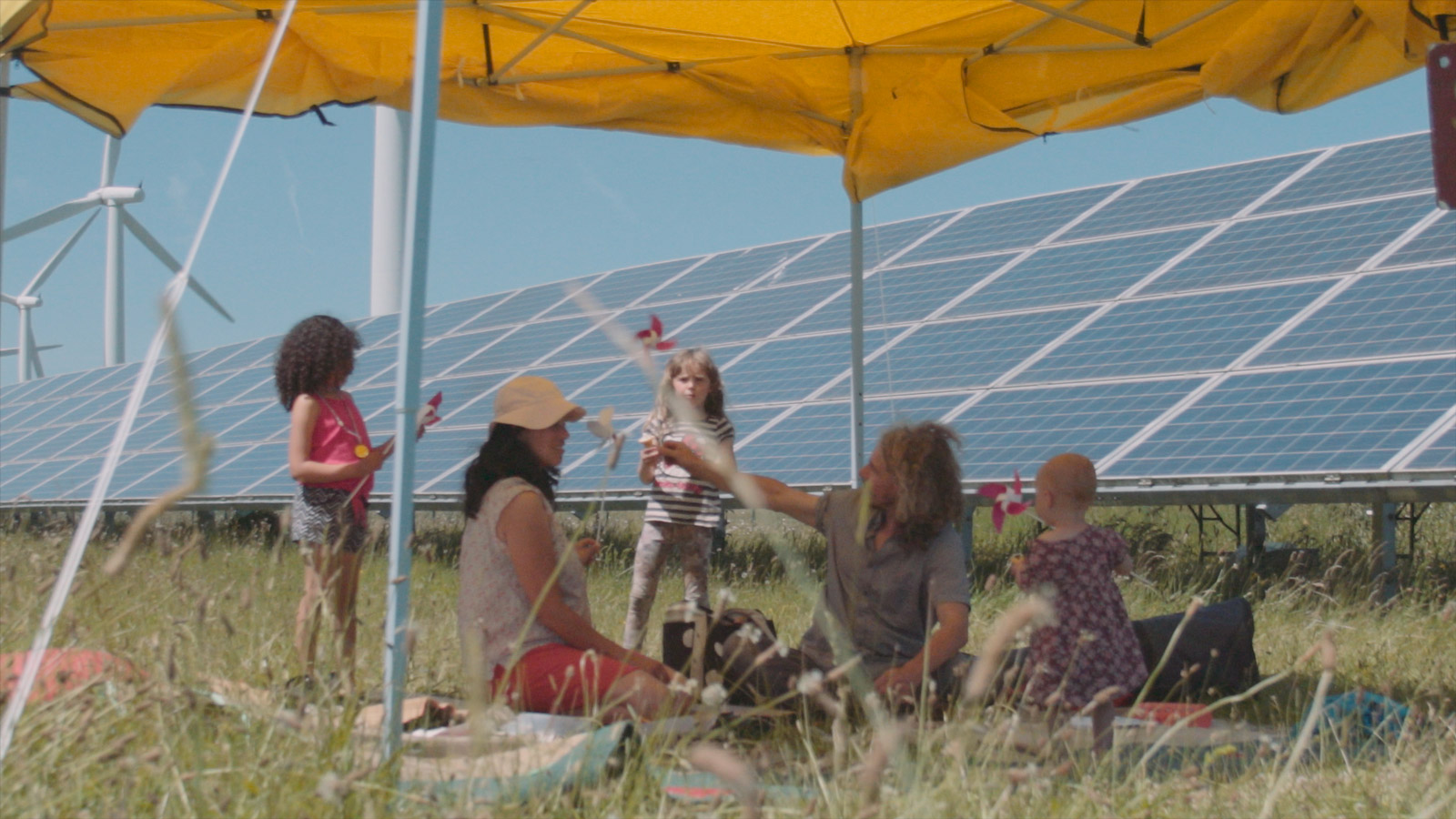 Westmill community solar farm, photo by Ross Gill.