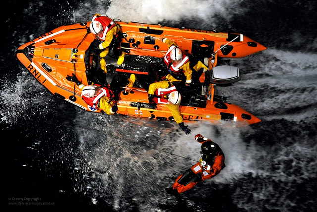 The RNLI is saving lives and pioneering clean technology.
