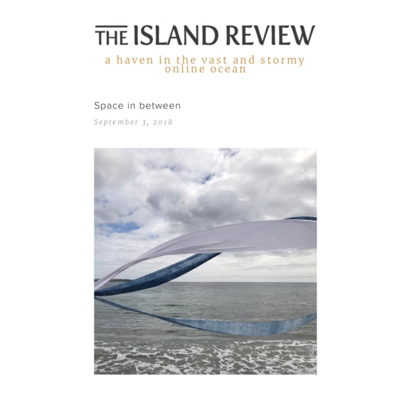 I am delighted to have been published in The Island Review an online magazine dedicated to islands creative. The Island Review has been for a while a wonderful source of inspiration and an overview of other islanders. Please see below the link to my feature and also explore other articles on the site.     http://theislandreview.com/content/space-in-between-art-textiles-louise-barrington-orkney     Many thanks to The Island Review team for the feature.