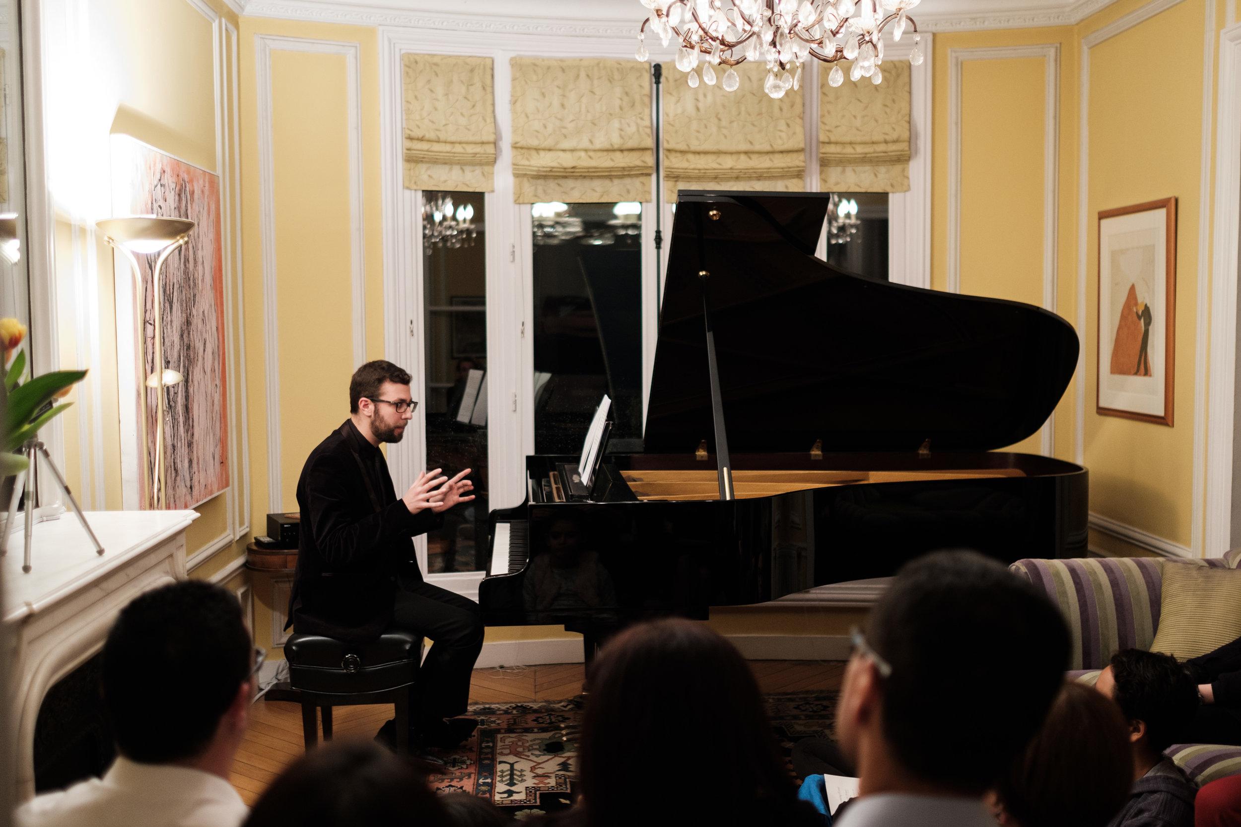 Piano Music in Paris