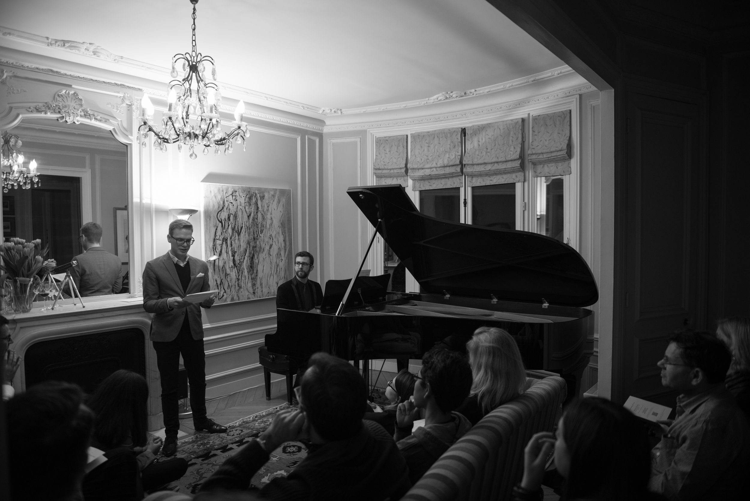 Talking about Piano Music in Paris