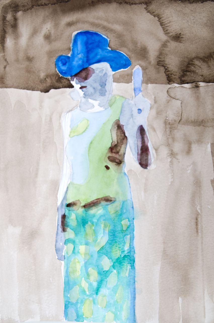 Singing Queen Emmylou (blue hat).jpg