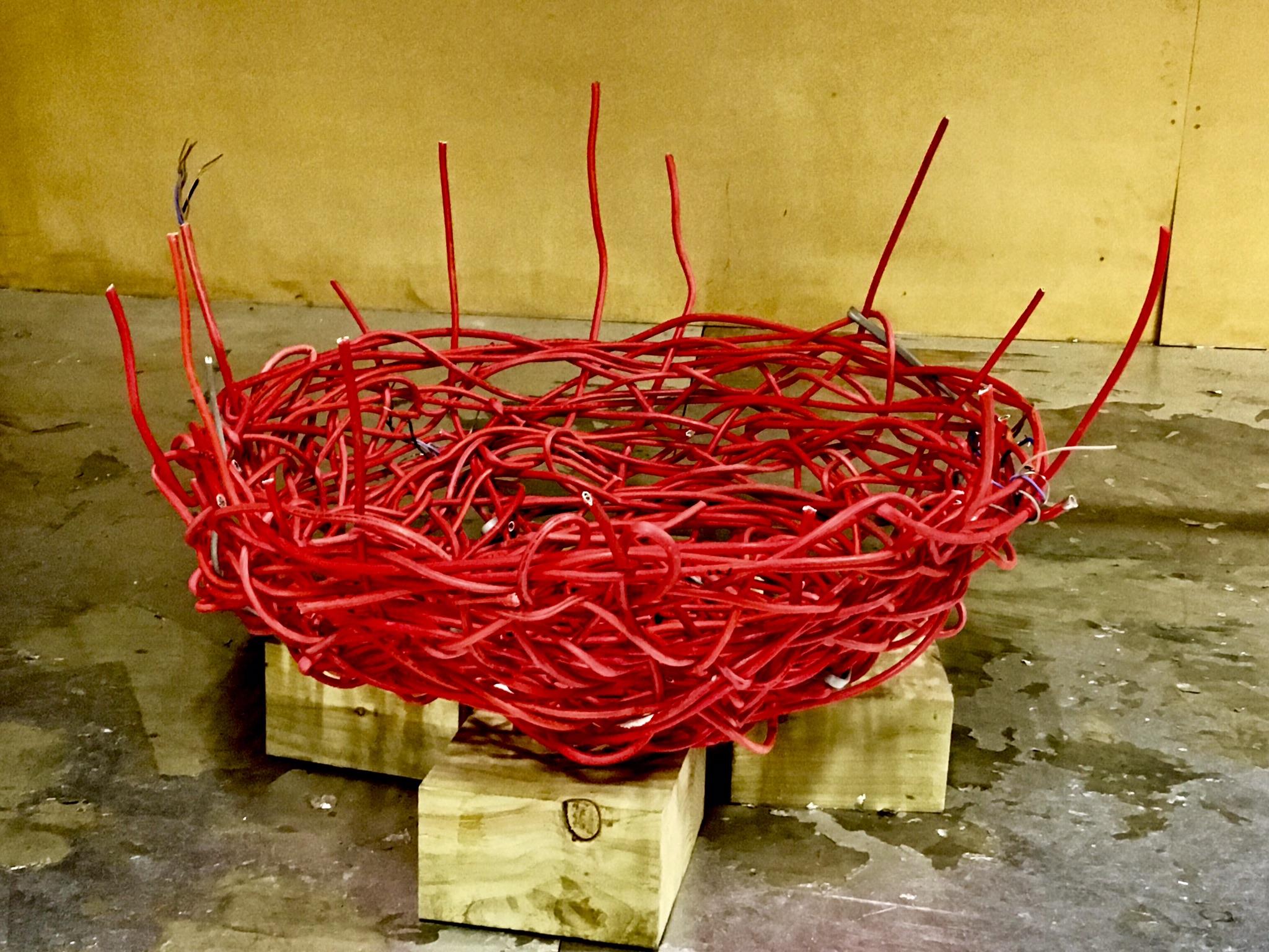 'The Empty Nest' - studio image 2017.