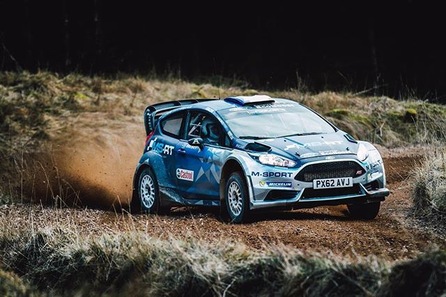 Awesome day yesterday catching up with @gusgreensmith as he prepares for WRC Mexico 🏎💨 . . @msportltd @sonyalpha . . #wrc #msport #fiestawrc #sonyalpha #sonya7sii #motorsport #rally