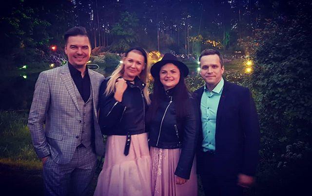 Maģisks vakars @lu_rododendri @rododendrunakts ! Tiekamies arī 1. jūnijā, 20:00 :) #tirkizband #concert #openair #greatmood