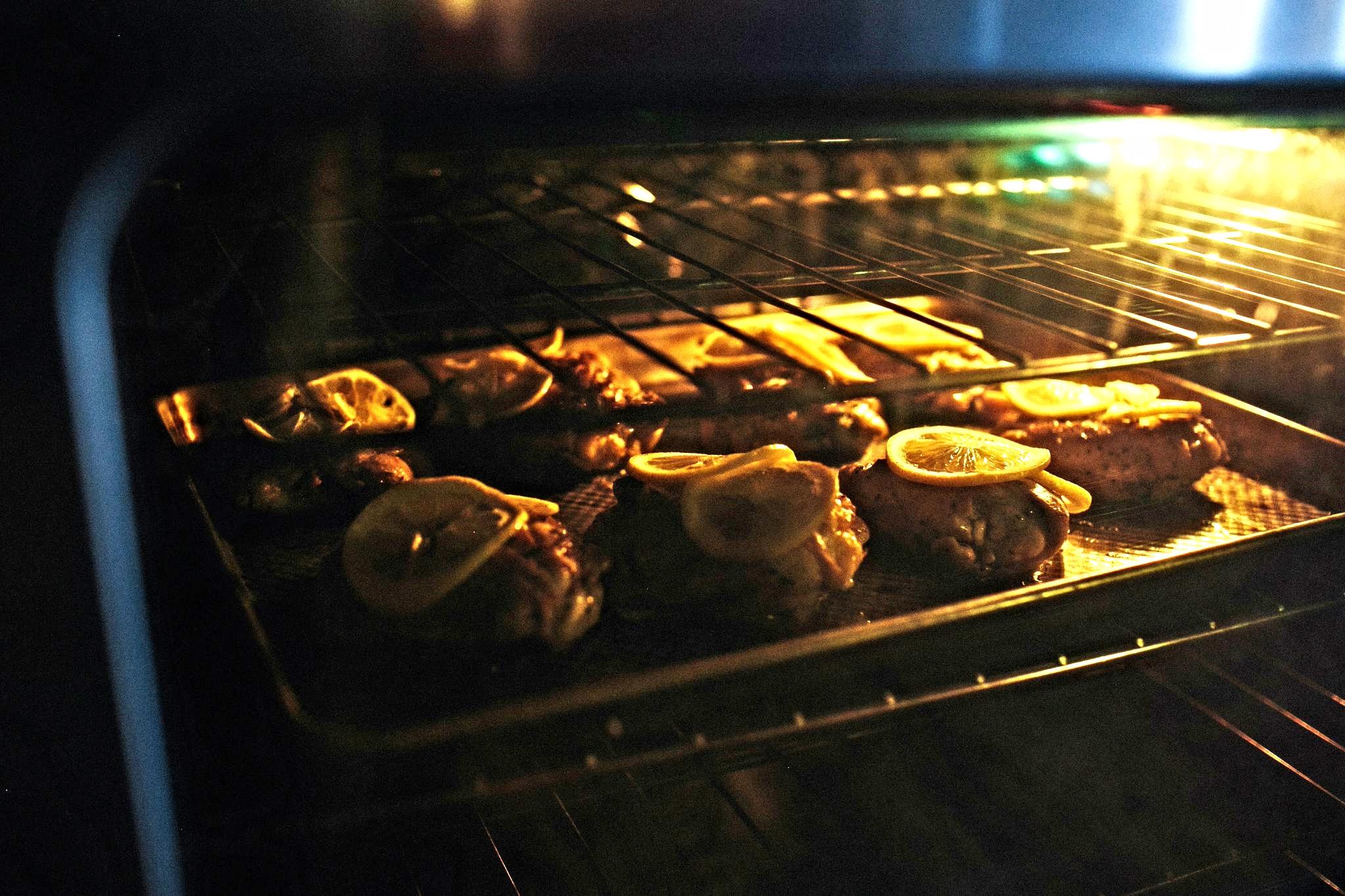 Oven baked herbed chicken