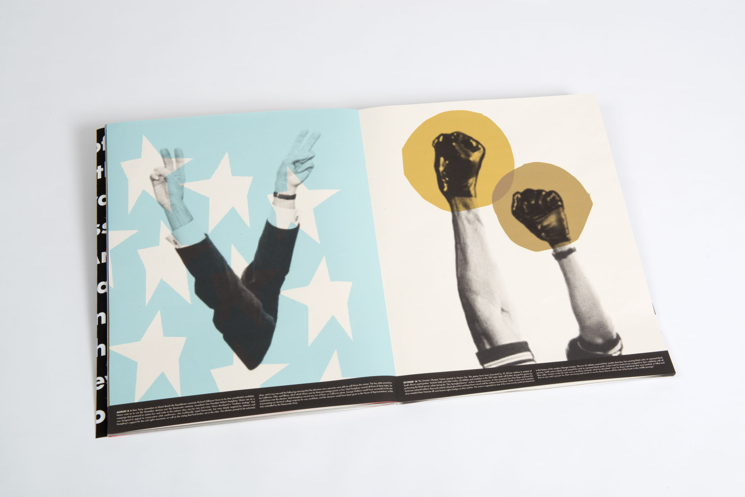 Nixon Chosen as Democratic Nominee // Protest by Tommie Smith and John Carlos at Olympic Games