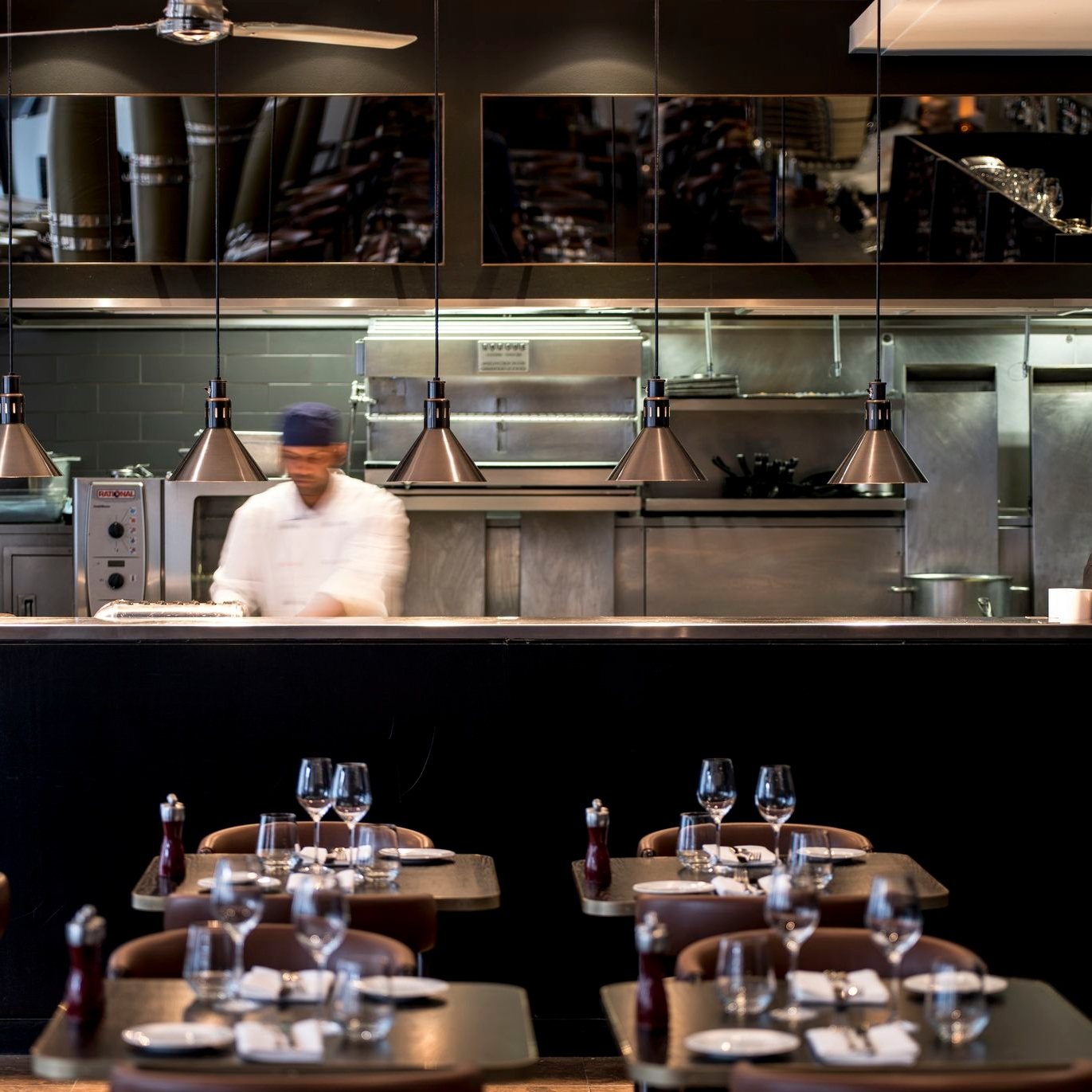 Experience the live view of our open kitchen