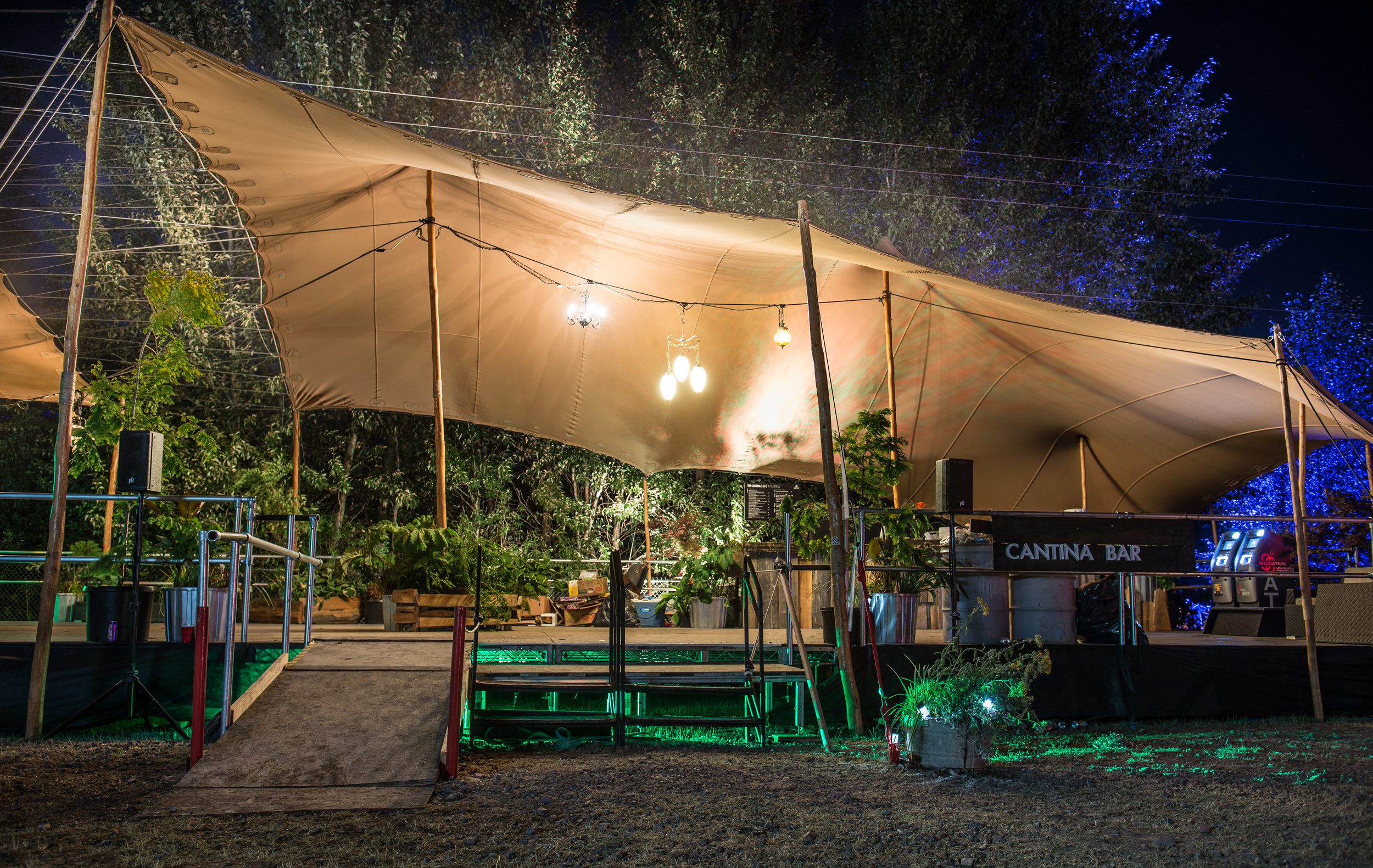Bass Coast 2017 - Cantina Stage