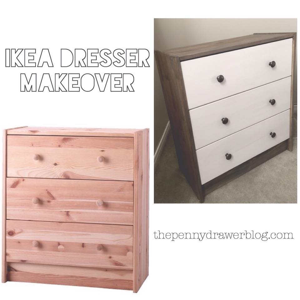 Ikea Dresser Makeover