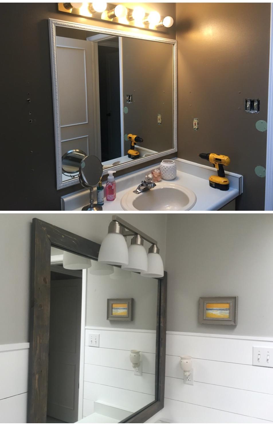 Shiplap Bathroom Makeover