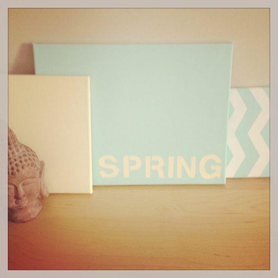 Spring Decor + Easter Recipes