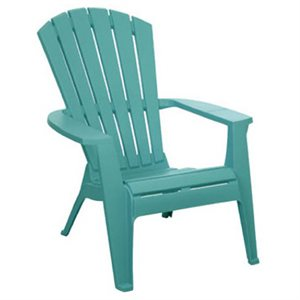 I would also like to add a few turquoise muskoka chairs with my brown ones