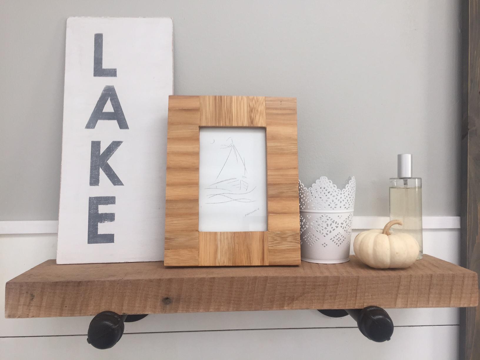 Industrial Inspired Shelf