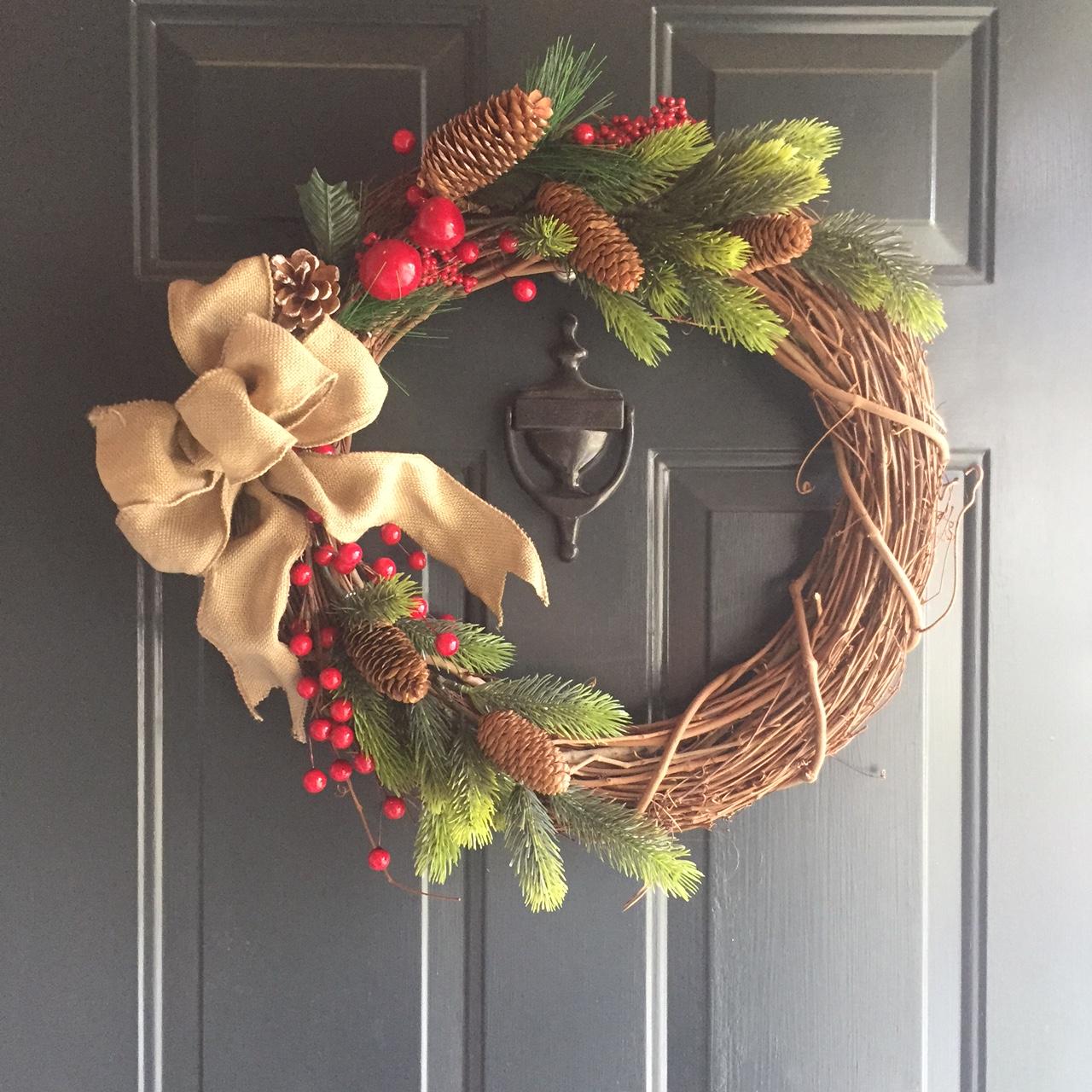 $10 Christmas Wreath