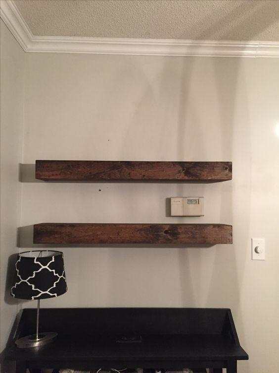 Shelves slide over your brackets