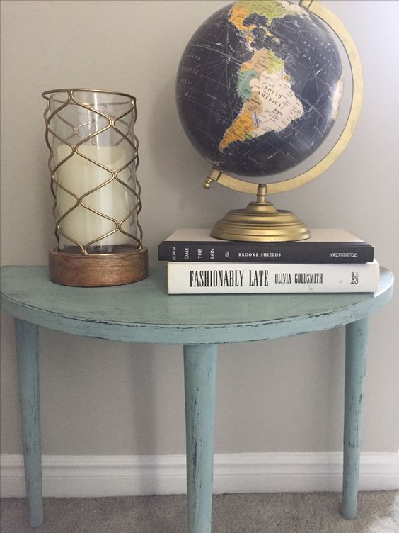 Chalk Painted Side Table