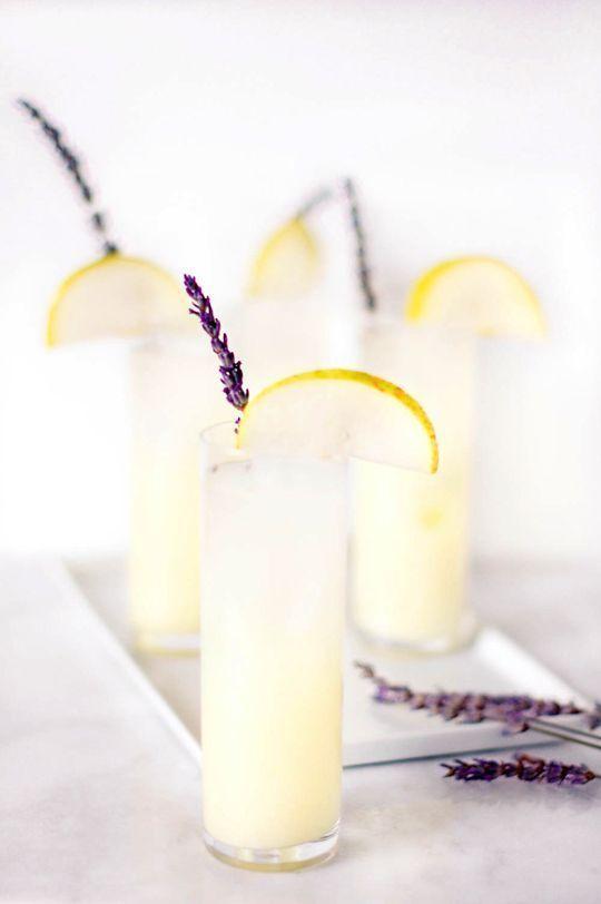 Lavender pear vodka lemonade