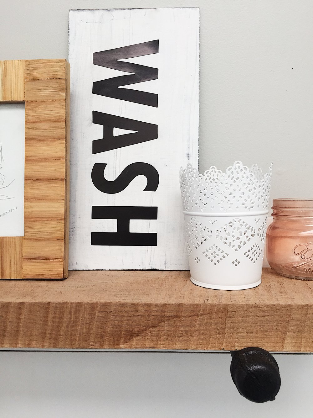 DIY Wash Sign